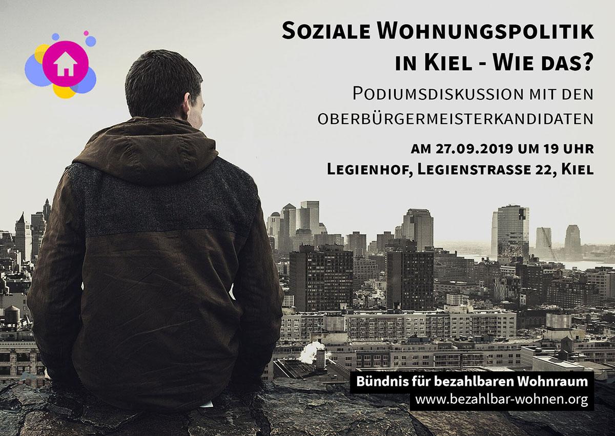 Podiumsdiskussion mit den OB-Kandidaten in Kiel